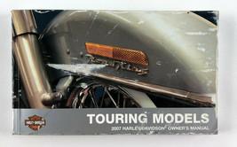 2007 Harley Davidson Owner's Manual - Touring Models #99466-07 * Some Staining * - $29.69