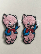 "Vintage Looney Tunes WB Porky Pig Patch Lot 3"" Tall Unused Warner Bors 1... - $14.00"