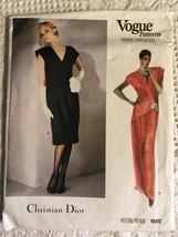 Vintage Vogue 1064 Paris Original Pattern Christian Dior Loungewear Uncu... - $68.00