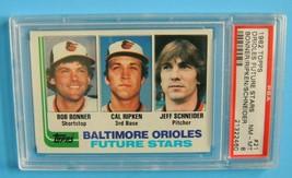 Vintage 1982 Topps Future Stars Cal Ripken Rookie Baseball Card #21 PSA 8 - $97.00