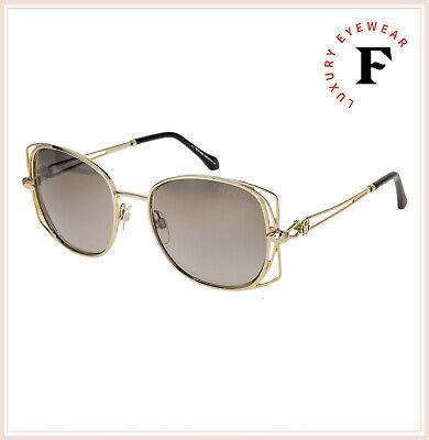 ROBERTO CAVALLI RC1031 CASENTINO Metal Gold Smoke Gradient Sunglasses 1031 Women