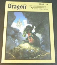 Dragon Adventure Role-Playing Aid 5th Anniversary Issue Special Dragon J... - $9.89