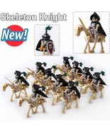 10pcs/set Skeleton Knight mounted on Undead Horse Castle theme Minifigures - $21.99