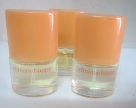 Clinique Happy MINI Perfume**Lot of 2** 0.14 Fl oz/4 ml For Women - $14.84