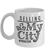 Selling My City Coffee & Tea Gift Mug and Cup Gifts for Women Real Estat... - $14.70