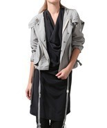 NWT $480 Nicholas K Raiden Jacket size S in Lig... - £295.64 GBP