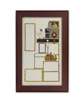Tuffet's Cupboard Part 1 CH1006 chart with button pack cross stitch char... - $19.89