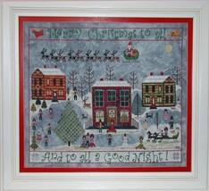 Carols On The Square cross stitch chart Praiseworthy Stitches - $12.60
