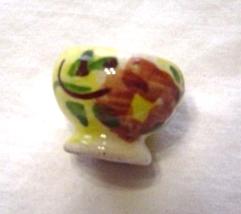 Miniature Mexican Porcelain Pot image 1