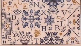 Simple Gifts - Peace cross stitch chart Praiseworthy Stitches image 3
