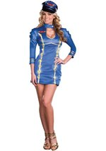 Come Fly With Me Light Up Pilot Costume   Brand New   Size: Xl   Free Shipping ! - $39.99