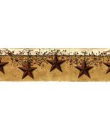 Hanging Star Wallpaper Border Bath Kitchen Primitive Decor  - $24.95