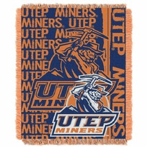 Northwest Company Texas El Paso Official College UTEP Miners Play Woven Throw - $21.77