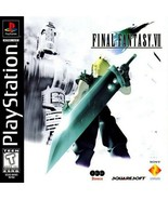 Final Fantasy 7 PS1 Great Condition Fast Shipping - $69.93