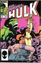 The Incredible Hulk Comic Book #311 Marvel 1985 Very FINE/NEAR Mint New Unread - $3.50