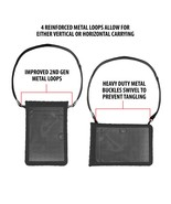 10-in Rugged Travel Sleeve by USA Gear with Touch Capacitive Screen Prot... - $19.99