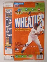 Empty WHEATIES Box 2007 15.6oz TONY GWYNN [Z202e5] - $6.32