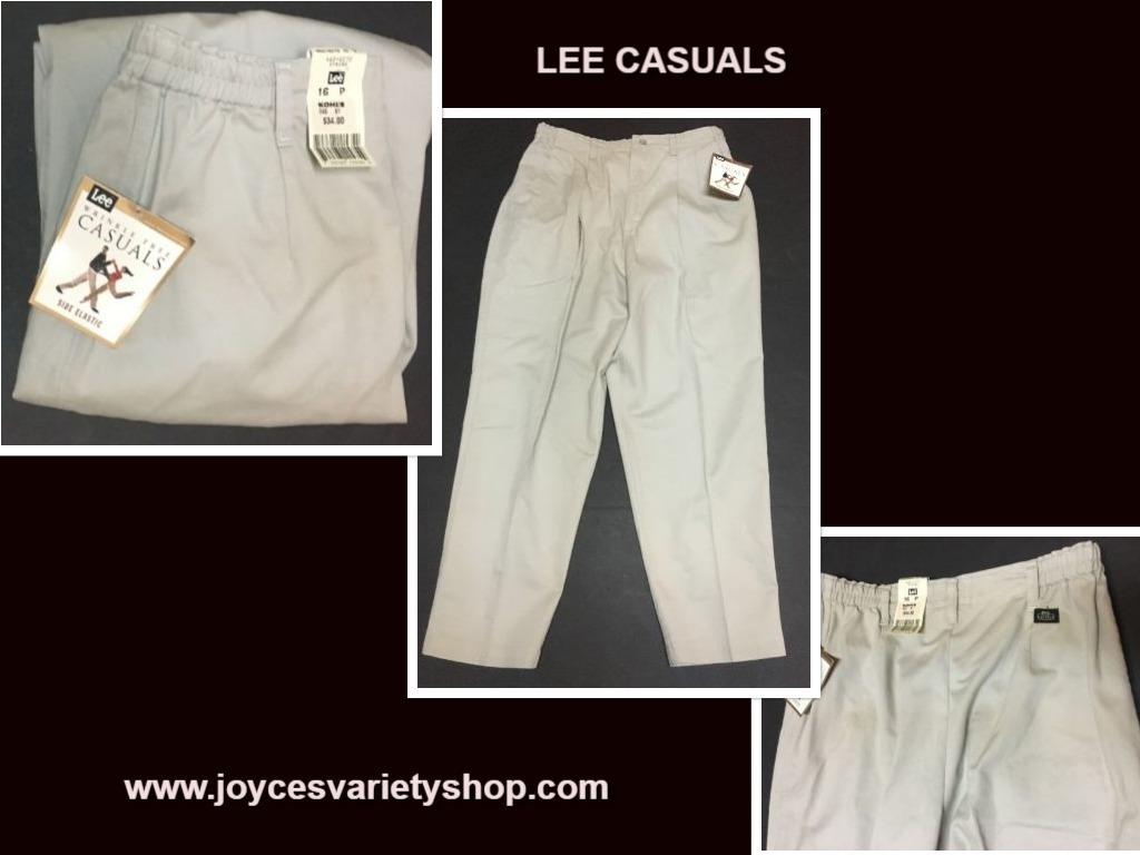 Lee casual 16p pants web collage
