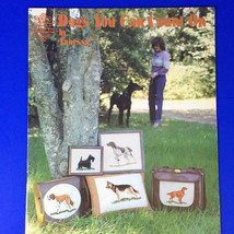 Dogs You Can Count On Counted Cross Stitch Pattern Book Designs by Glori... - $8.90