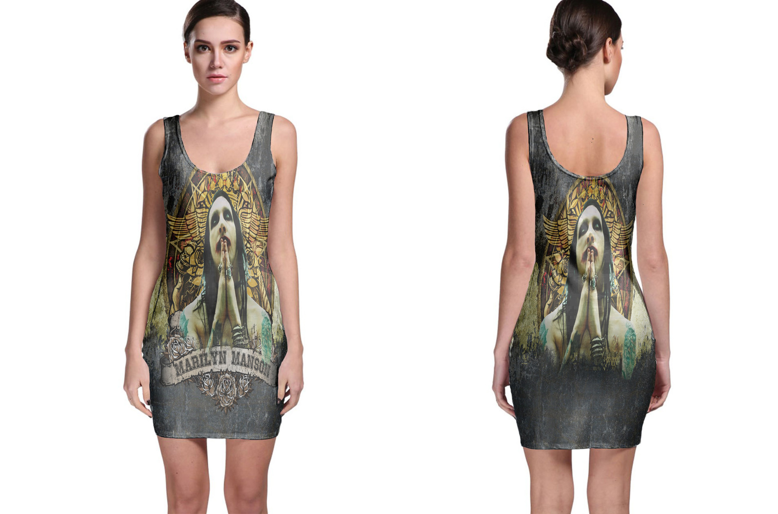 Primary image for Rare New Marilyn Manson The Last Song Bodycon Dress