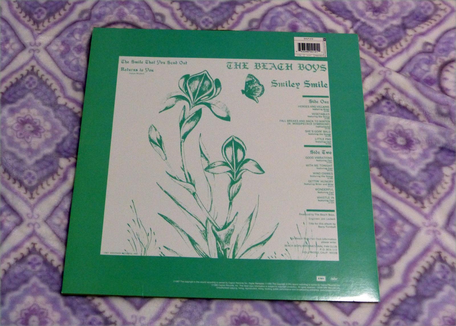 The Beach Boys - Smiley Smile - Vinyl LP  SVLP 219 EMI Capitol Audiophile Exc.