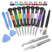 16 in 1 Mobile Phone Repair Tools Kit Screen Opening Tool Screwdriver Tw... - $14.39