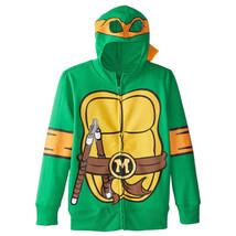 Teenage Mutant Ninja Turtles Michelangelo Youth Costume Hoodie Green - $24.98