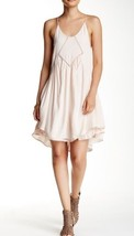 Romeo & Juliet Couture Babydoll Dress W Crochet Detail & Layered Hem NWT... - $49.85
