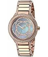 Women's Michael Kors MK3482 'Kerry' Bracelet Watch, 38mm - Rose Gold/ Pu... - £68.28 GBP