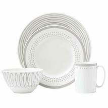 Kate Spade New York Charlotte Street East Grey Collection 4-Piece Place Setting - $69.99