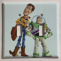 Toy Story Woody Buzz Lightyear Light Switch Outlet wall Cover Plate Home Decor image 6