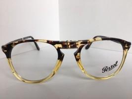 New Persol 9714-V-M 1024 Tortoise 52mm Folding Eyeglasses Frame Italy - $179.99