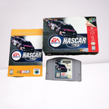 Nascar 99 Nintendo 64 N64 Complete W/ Manual And Box - $13.98