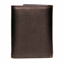 BRAND NEW TOMMY HILFIGER MEN'S LEATHER CREDIT CARD WALLET TRIFOLD BROWN 5676-2 image 3