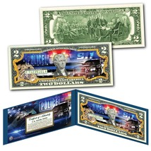POLICE DEPARTMENT 911 Emergency Response Agency Genuine US $2 Bill - The... - $13.98