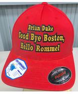 Brian Duke Good Bye Boston Hello Rommel One Size Stretch Baseball Cap Hat - $36.72