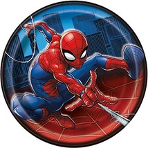 Unique Spider-Man Round 7 Inch Dessert Plates [8 Per Pack] - $10.77