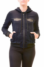 Diesel Women's Jookley -NE-CM Giacca Bomber Jacket Blue Size XS RRP £310... - $284.21