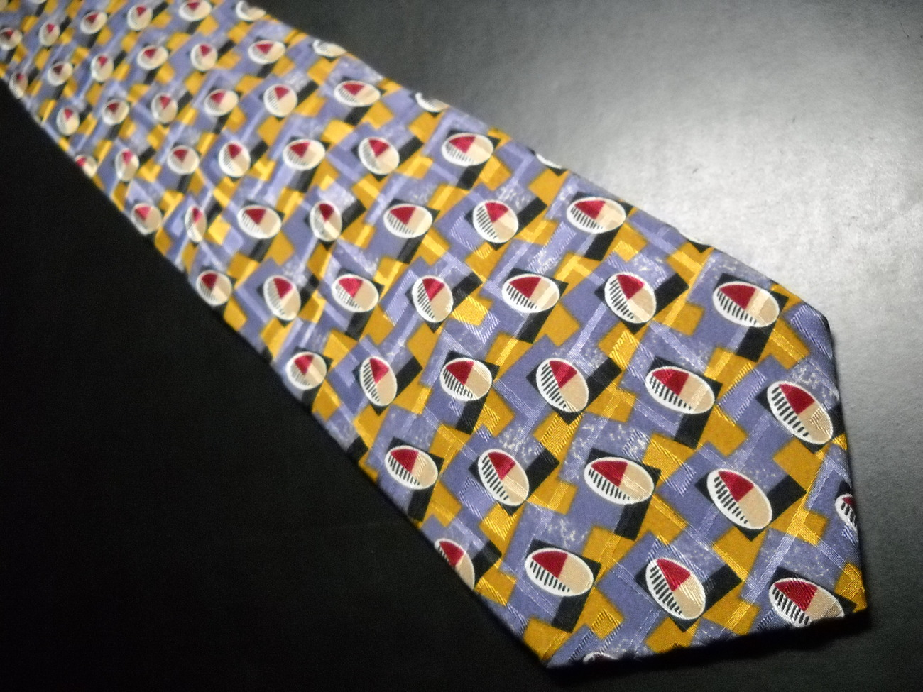 London Fog Neck Tie Italian Silk Water Repellent image 2