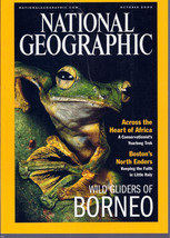 National Geographic October 2000 Across the Heart of America- Giders of ... - $3.99