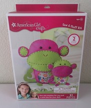 American Girl Craft Kit Sew & Stuff Monkey - Make 1 for You and 1 for Yo... - $16.14
