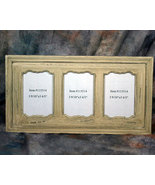 Rustic Country Wooden Triple Picture Frame 4x6 - $14.95