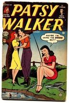 Patsy Walker #44 1948-Atlas-Hedy Wolf-Al Jaffee-paper dolls-G - $47.92