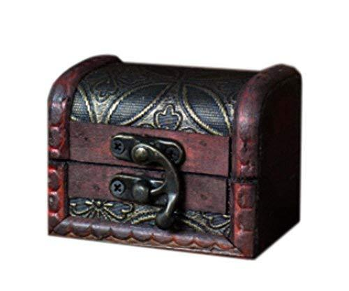 Fashionable And Elegant Wooden Jewelry Box Cosmetic Case