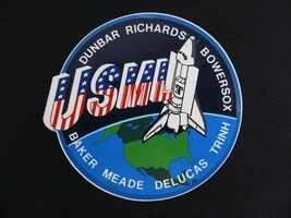 NASA Space Shuttle Crew Member Patch Decal STS 50 - $9.86