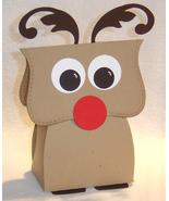 10 Rudolph Reindeer Party Favors Christmas Favor Box **Kit** - $7.99