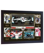 new 6 Time World Champion Lewis Hamilton signed autographed F1 poster FR... - $21.54
