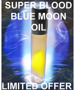 JAN 31 LIMITED SUPER BLOOD BLUE MOON 200X BOOST MAGICK DJINN SPIRITOIL S... - $57.77