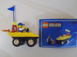 LEGO System Beach Buggy set # 6437 complete - $5.75
