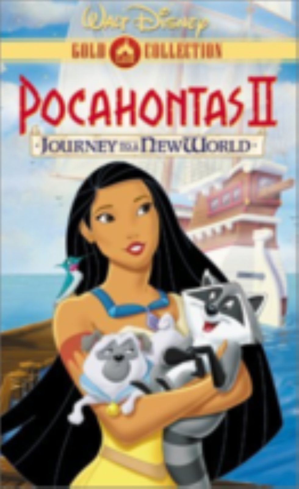 Pocahontas II: Journey to a New World Vhs